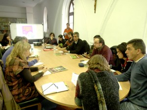 Presentamos el informe en Burgos, en un encuentro de agentes de Comercio Justo