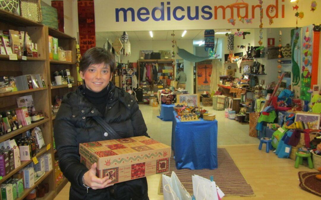 Radio Vitoria colabora con medicusmundi álava/araba en la promoción del Comercio Justo