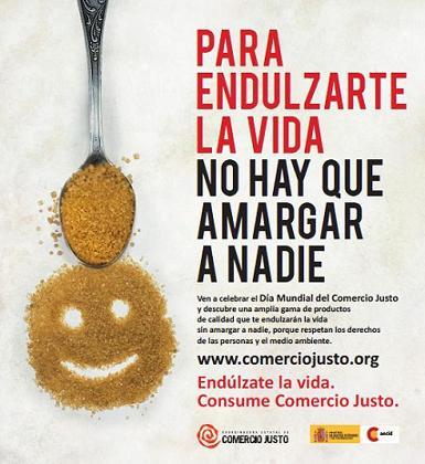 El 11 de mayo más de cien localidades celebrarán el Día Mundial del Comercio Justo con el azúcar como protagonista
