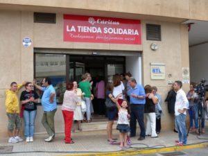 Cáritas Diocesana de Ibiza y Formentera inaugura una nueva tienda solidaria con espacio para Comercio Justo en Ibiza