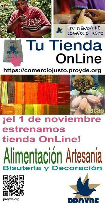 PROYDE inaugura su nueva tienda online