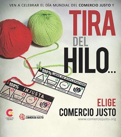 Las injusticias del sector textil centran el Día Mundial del Comercio Justo