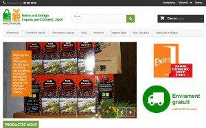 La primera tienda online en valenciano de productos de Comercio Justo a la Comunitat Valenciana