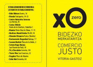 Sorteo de tres cestas en la Ruta del Comercio Justo de Vitoria-Gasteiz