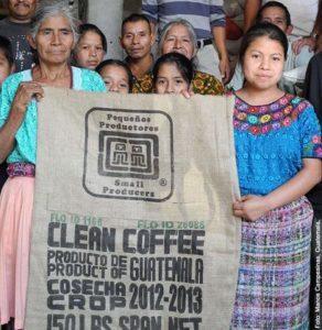 Trabajadoras de la organización Manos Campesinas, de Guatemala, perteneciente al SPP