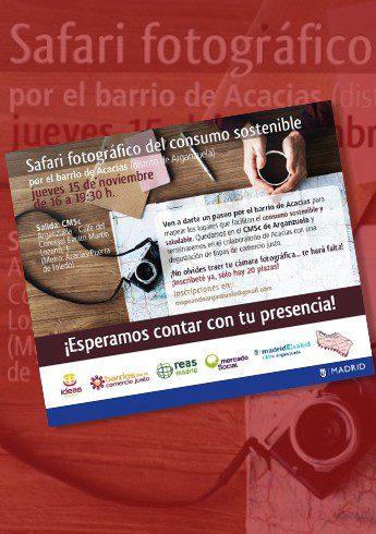 Safari del consumo sostenible y el Comercio Justo en el madrileño barrio de Acacias