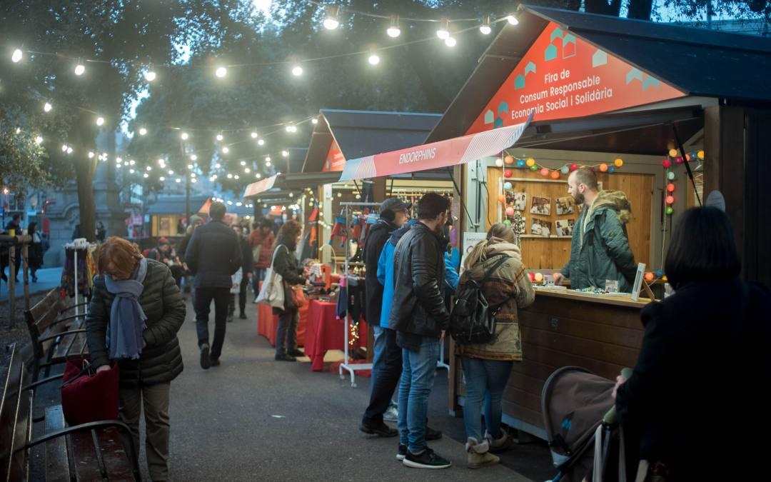 El Comercio Justo y las finanzas éticas en la IV Feria de consumo responsable de Barcelona