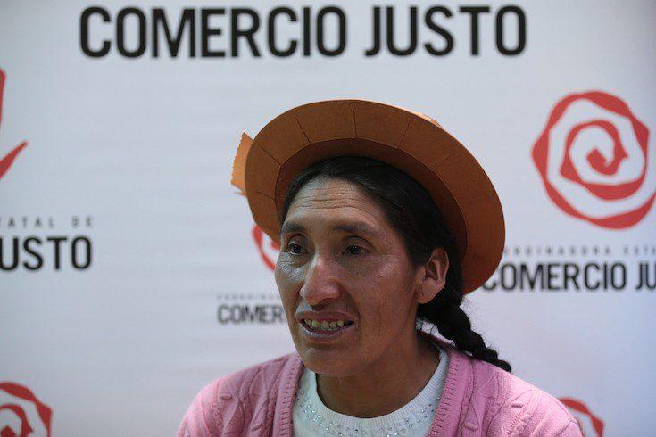María Ávila Quilca: «Gracias al comercio justo, hemos recuperado el cultivo de nuestras papas nativas»