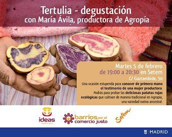 Conoce a María Ávila, mujer indígena peruana productora de Comercio Justo