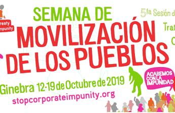 Nos unimos a la Semana de Movilización de los Pueblos