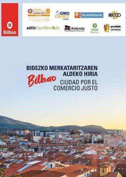 El Ayuntamiento de Bilbao publica un callejero con los puntos de venta y consumo de Comercio Justo en la ciudad