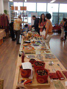 La Feria de importadoras de Comercio Justo presentó más de 2000 productos solidarios