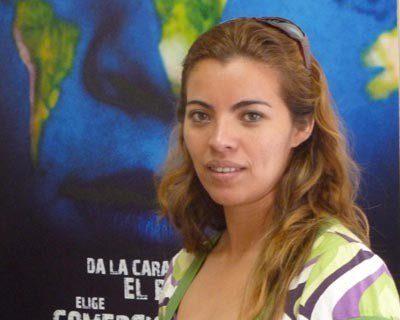 """""""El Comercio Justo nos garantiza un precio estable"""" Exolina Aldana, de CECOCAFEN (Nicaragua)"""