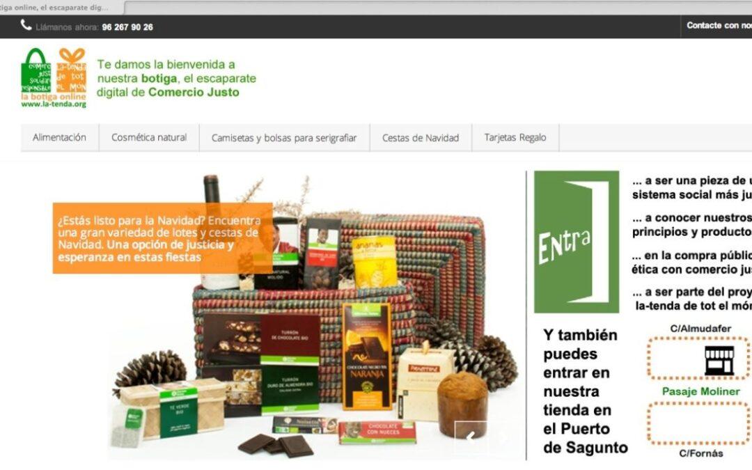 La Tenda de tot el món estrena su tienda on-line