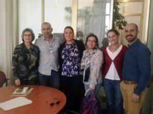 La cooperativa ecuatoriana de Comercio Justo MCCH e IDEAS realizan varias visitas institucionales