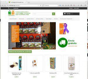 Ya se pueden comprar productos de Comercio Justo en la botiga online de La Tenda de Tot el Món