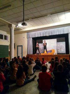 En marcha las representaciones de la obra de teatro que la compañía Camí de Nora ha preparado sobre el Cacau Morvedre