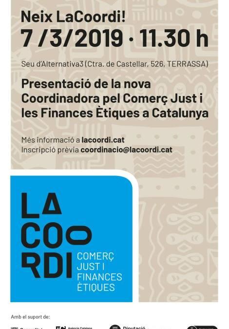 Nace 'La Coordi', la nueva coordinadora del 'Comerç Just i les Finances Ètiques' de Catalunya
