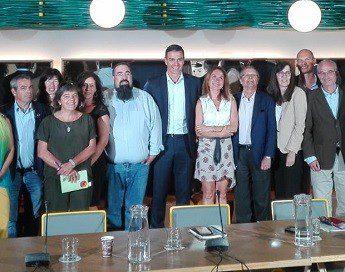 Reunión de la Coordinadora de Organizaciones de Cooperación para el Desarrollo con Pedro Sánchez