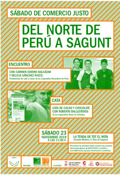Del Norte de Perú a Sagunt