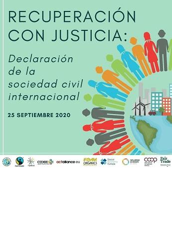 Una alianza de organizaciones de la sociedad civil pide la transformación de la economía y el sistema de comercio en favor de una recuperación justa y sostenible