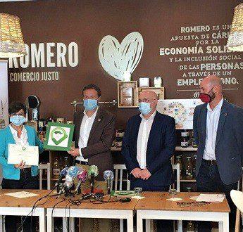 El café-tienda Romero de Comercio ha sido el escenario de una nueva campaña del gobierno de Castilla-Mancha