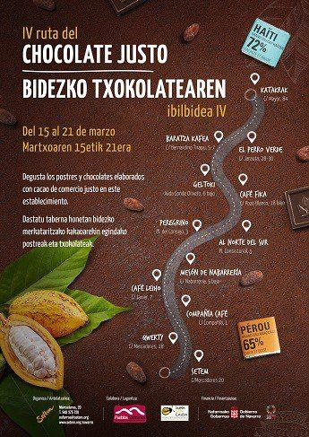Cuarta edición de la Ruta del Chocolate Justo