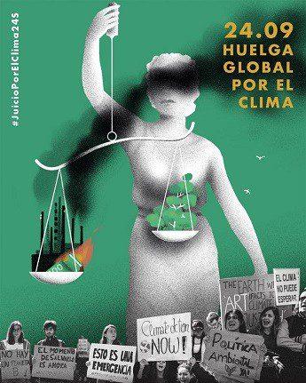 Nos unimos al Juicio por el Clima y a las movilizaciones del 24 de septiembre